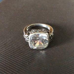 Vintage Judith Jack Cocktail Ring